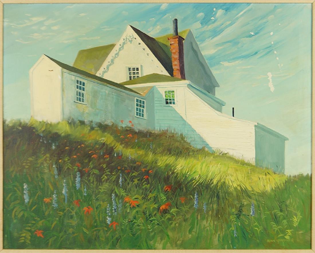 Allan Gardiner (American, Contemporary) Lighthouse