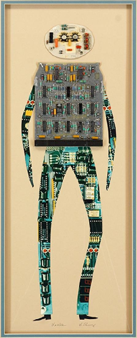 Harris G. Strong (American, 1920-2006) Hacker.