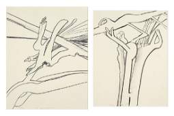 Richard Howard Hunt (American, B. 1935) Forms.