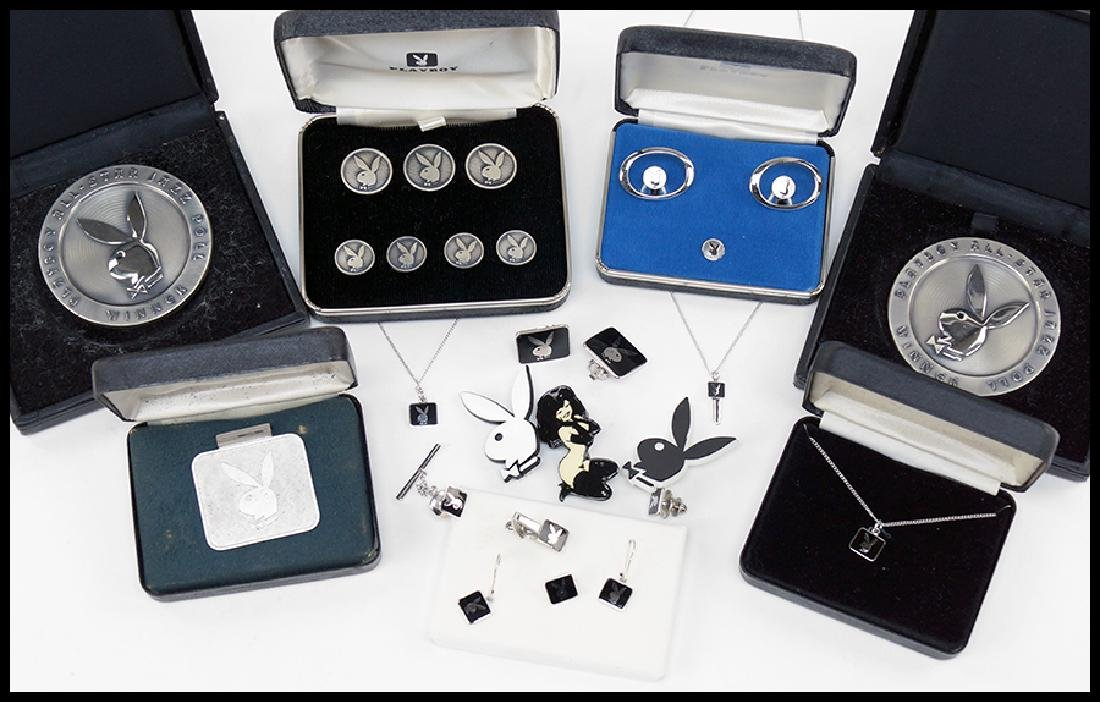 A Collection of Playboy Jewelry.
