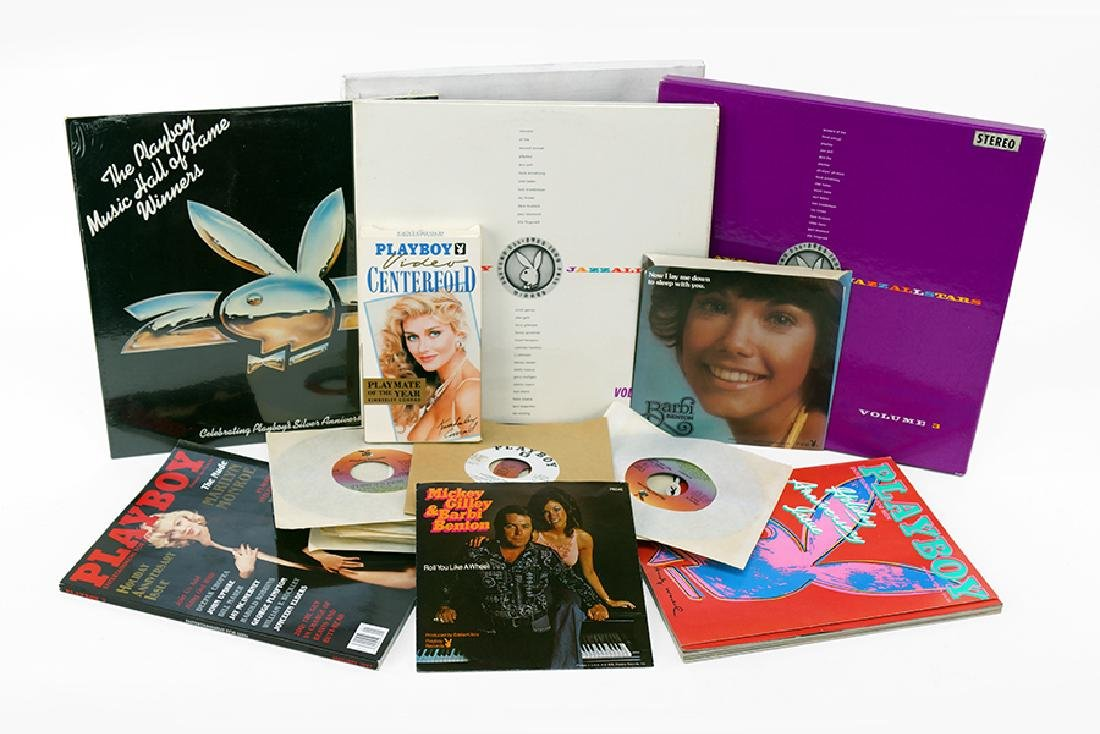 A Collection of Playboy Record Albums.