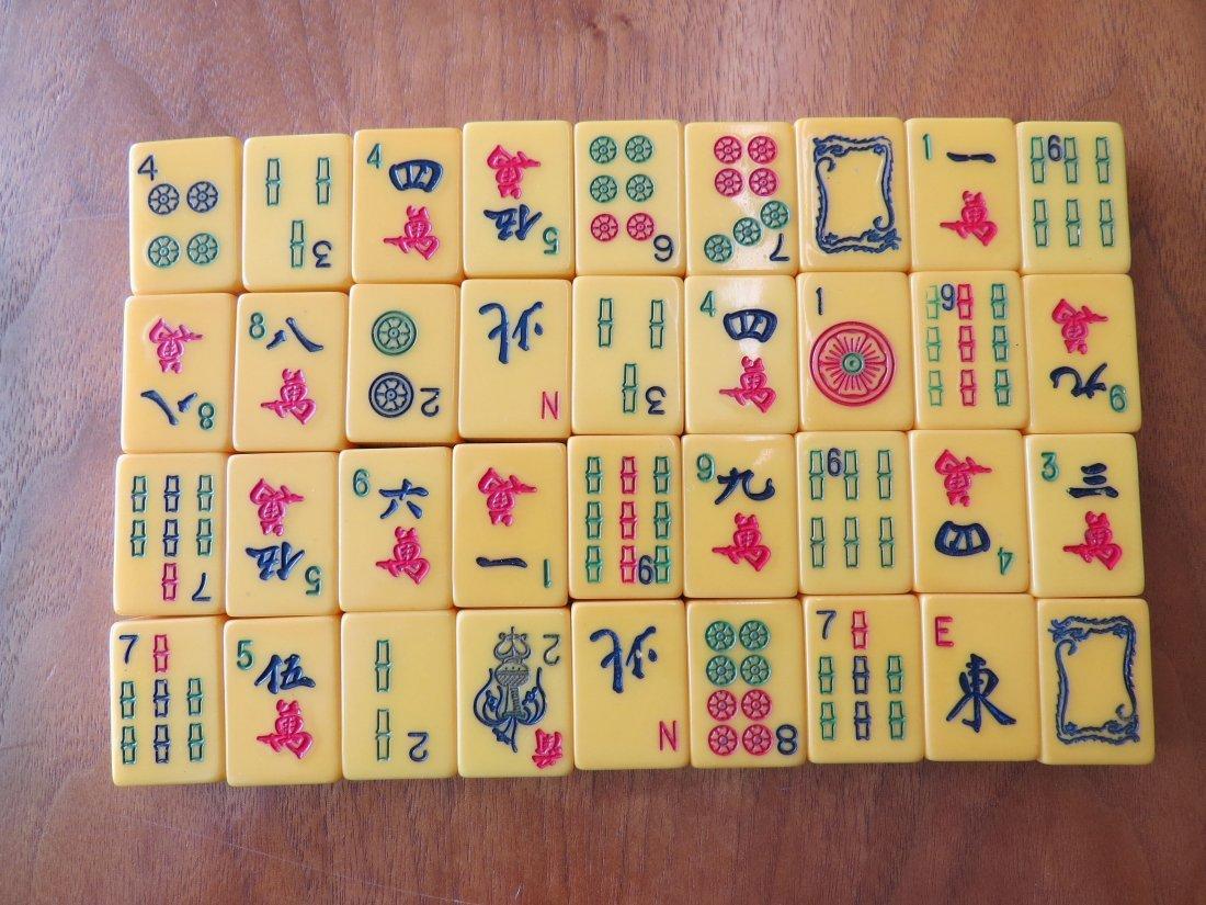 A Bakelite Mahjong Set. - 5