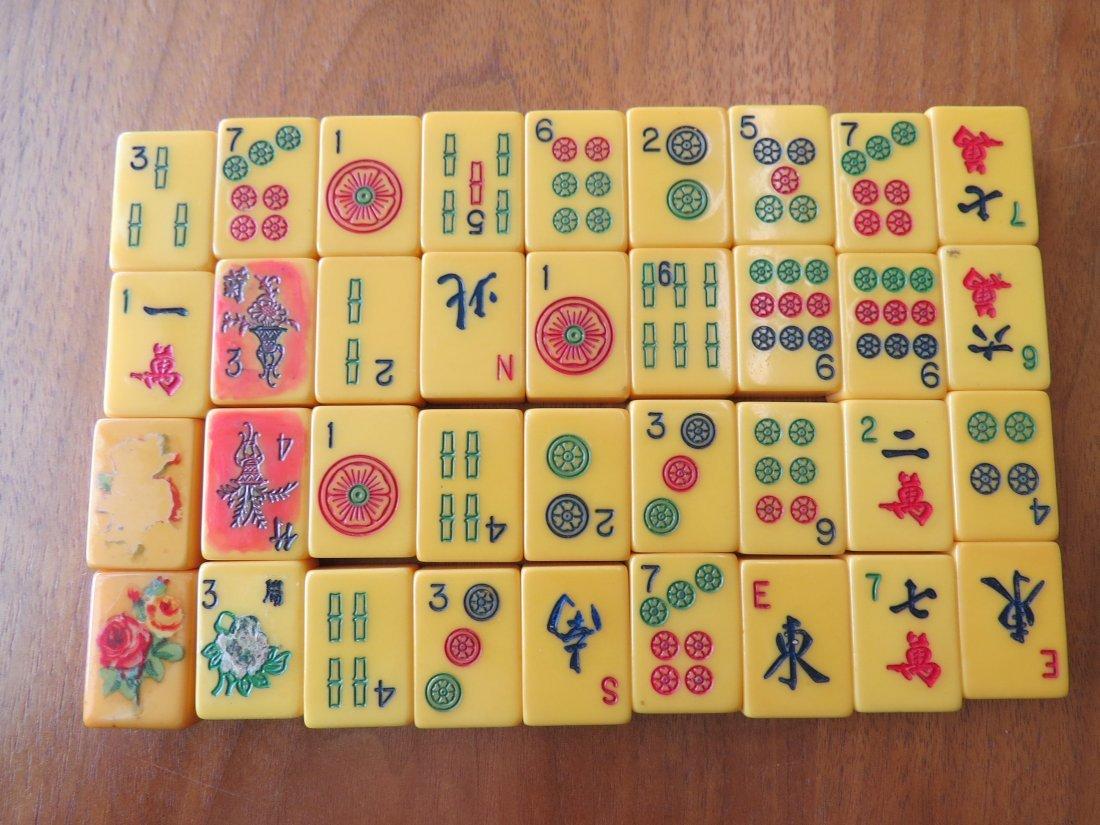 A Bakelite Mahjong Set. - 7