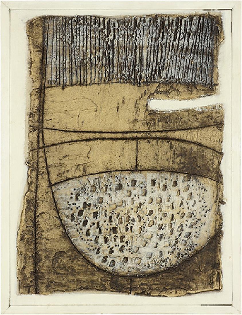 Tony O'Malley (Irish, 1913-2003) Composition.