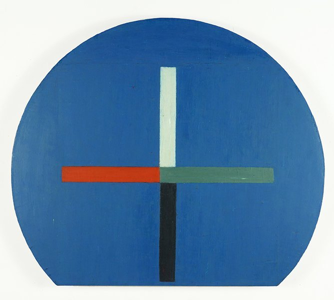 Rodney Carswell (American, B. 1946) Cross Encircled by