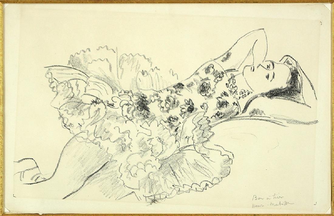 Henri Matisse (French, 1869-1954) Danseuse Couchee.