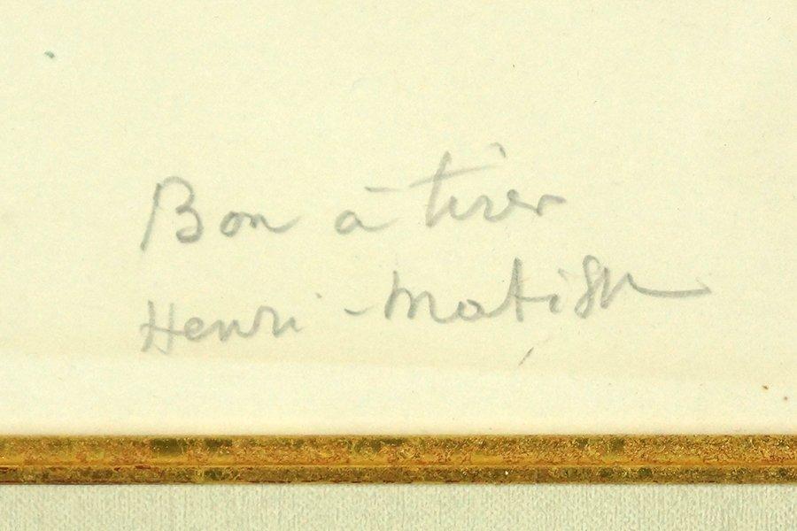 Henri Matisse (French, 1869-1954) Danseuse Couchee. - 2