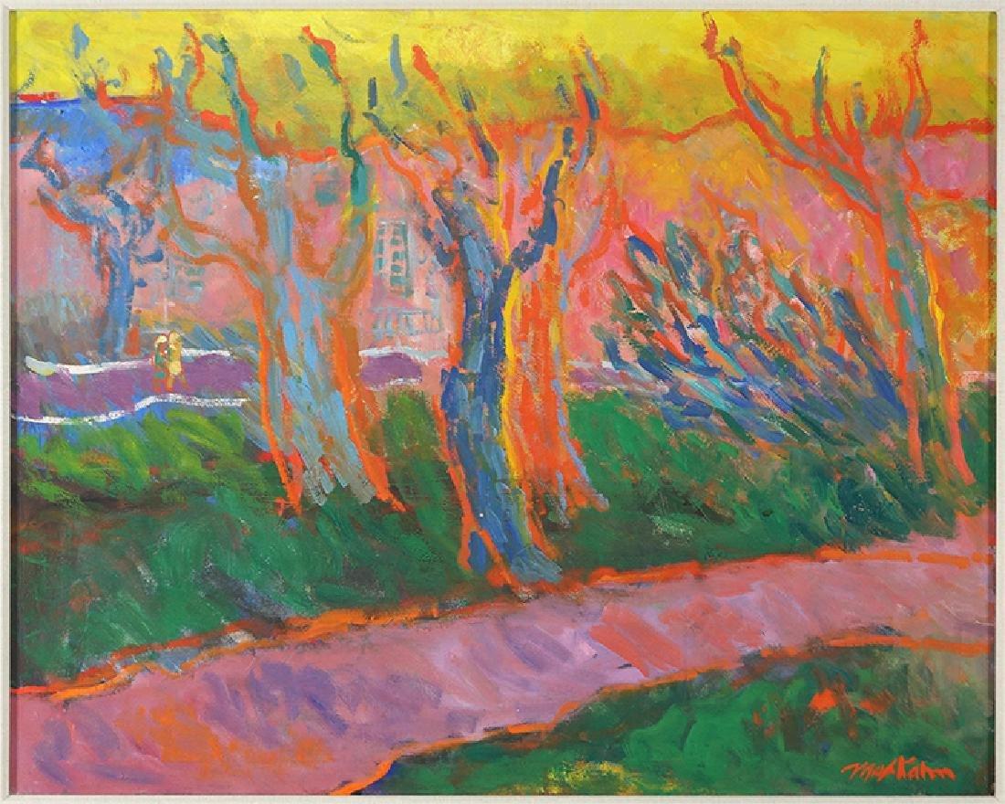 Max Kahn (American, 1903-2005) Landscape.