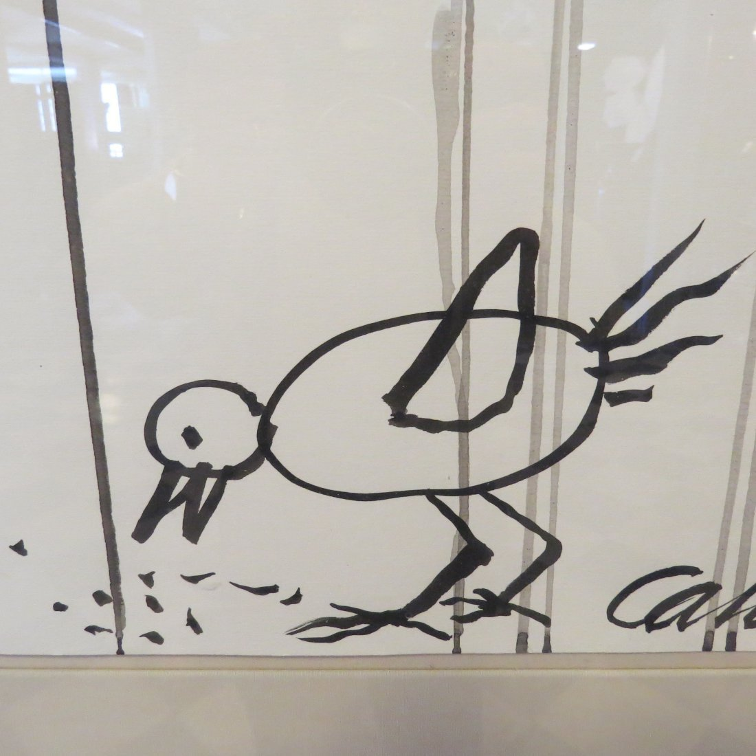 Alexander Calder (1898-1976) Endangered Bird. - 7