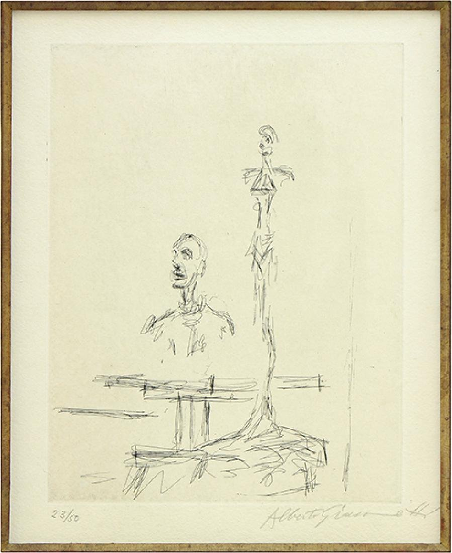 Alberto Giacometti (Swiss, 1901-1966) Dans l'Atelier.
