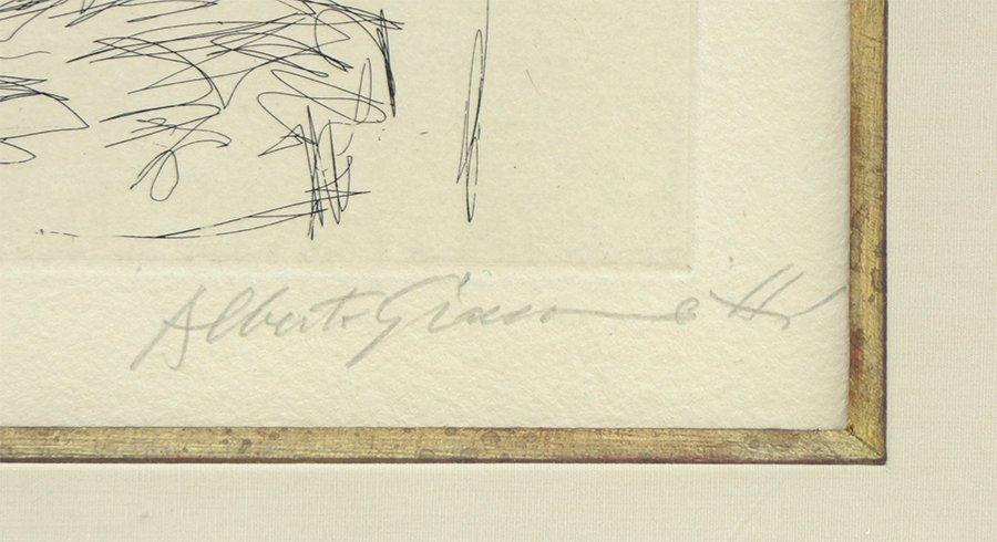 Alberto Giacometti (Swiss, 1901-1966) Dans l'Atelier. - 2