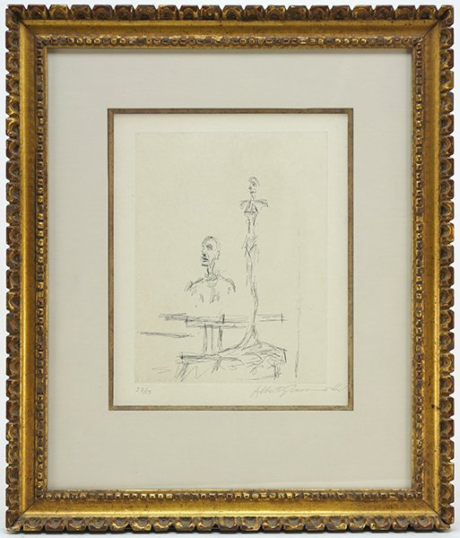 Alberto Giacometti (Swiss, 1901-1966) Dans l'Atelier. - 3