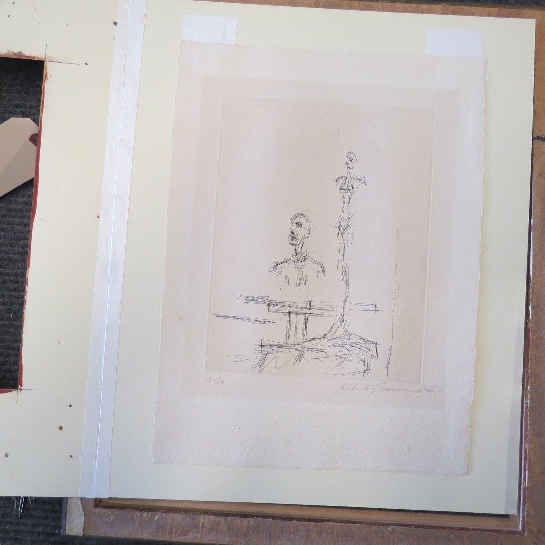 Alberto Giacometti (Swiss, 1901-1966) Dans l'Atelier. - 5