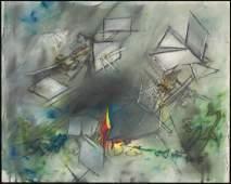 Roberto Matta Echaurren Chilean 19112002 Untitled