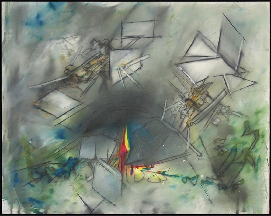 Roberto Matta Echaurren (Chilean, 1911-2002) Untitled.