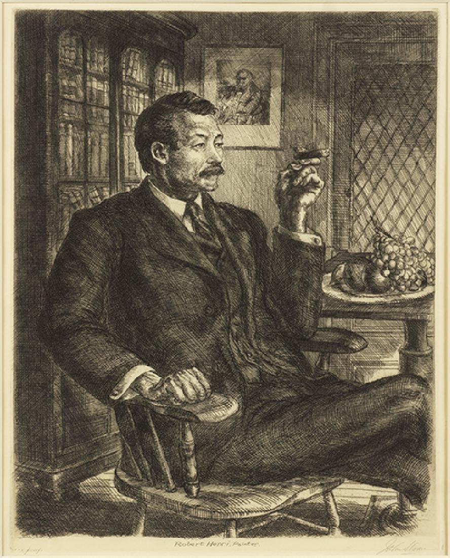 John Sloan (American, 1871-1951) Robert Henri, Painter.