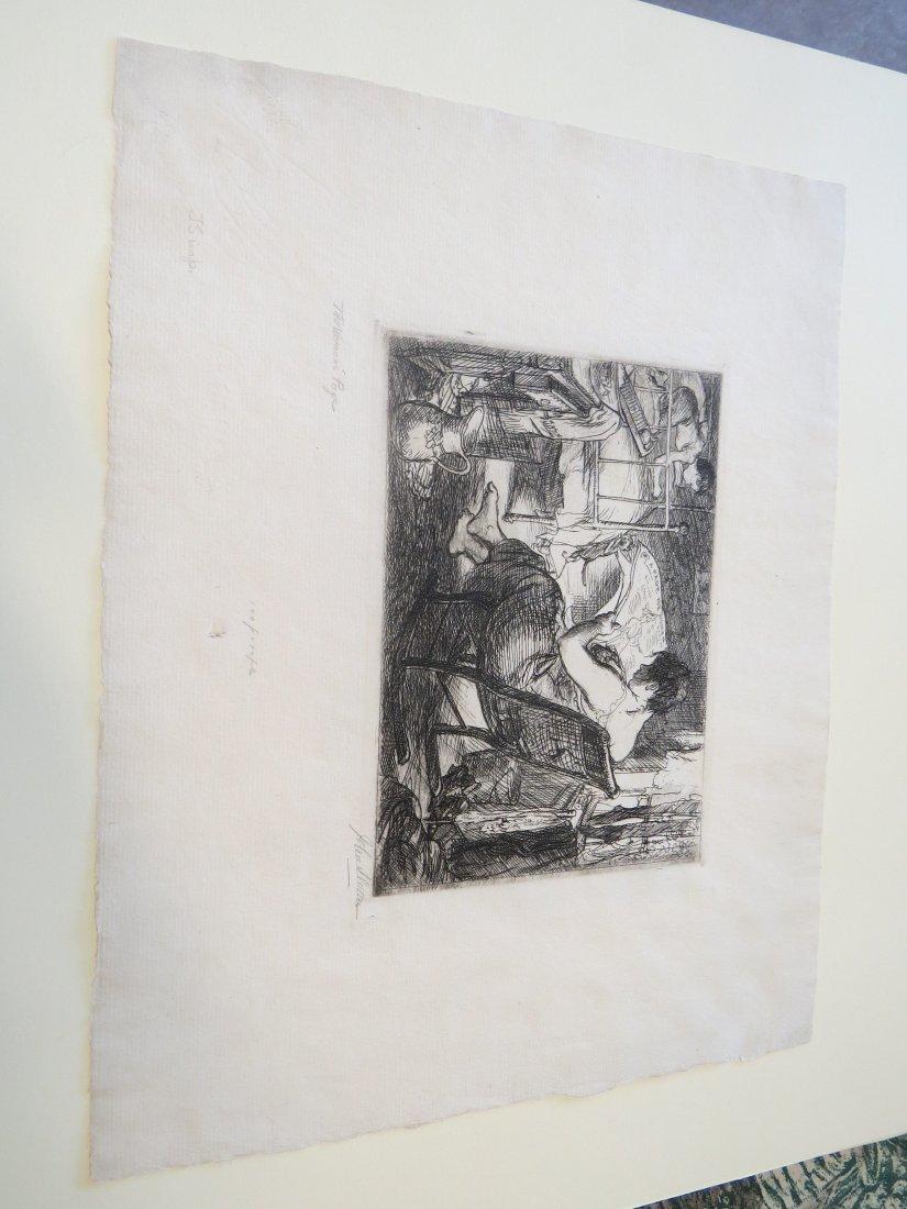 John Sloan (American, 1871-1951) The Woman's Page. - 2