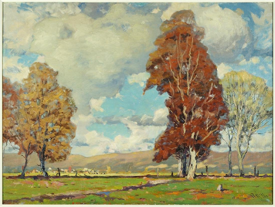 William McNair (American, 1867-) Landscape.