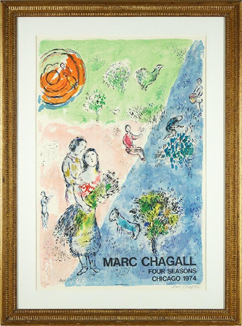 Marc Chagall (Russian-French, 1887-1985) Four Seasons.