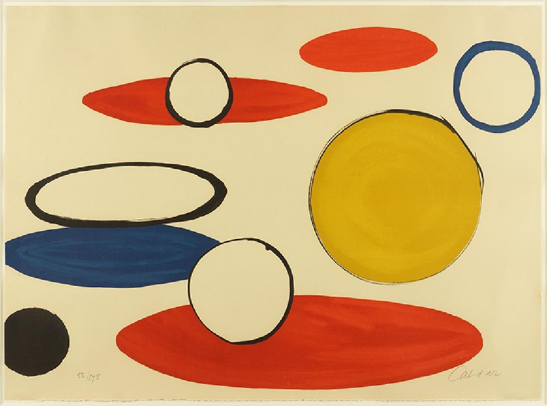 Alexander Calder (American, 1898-1975) Untitled.