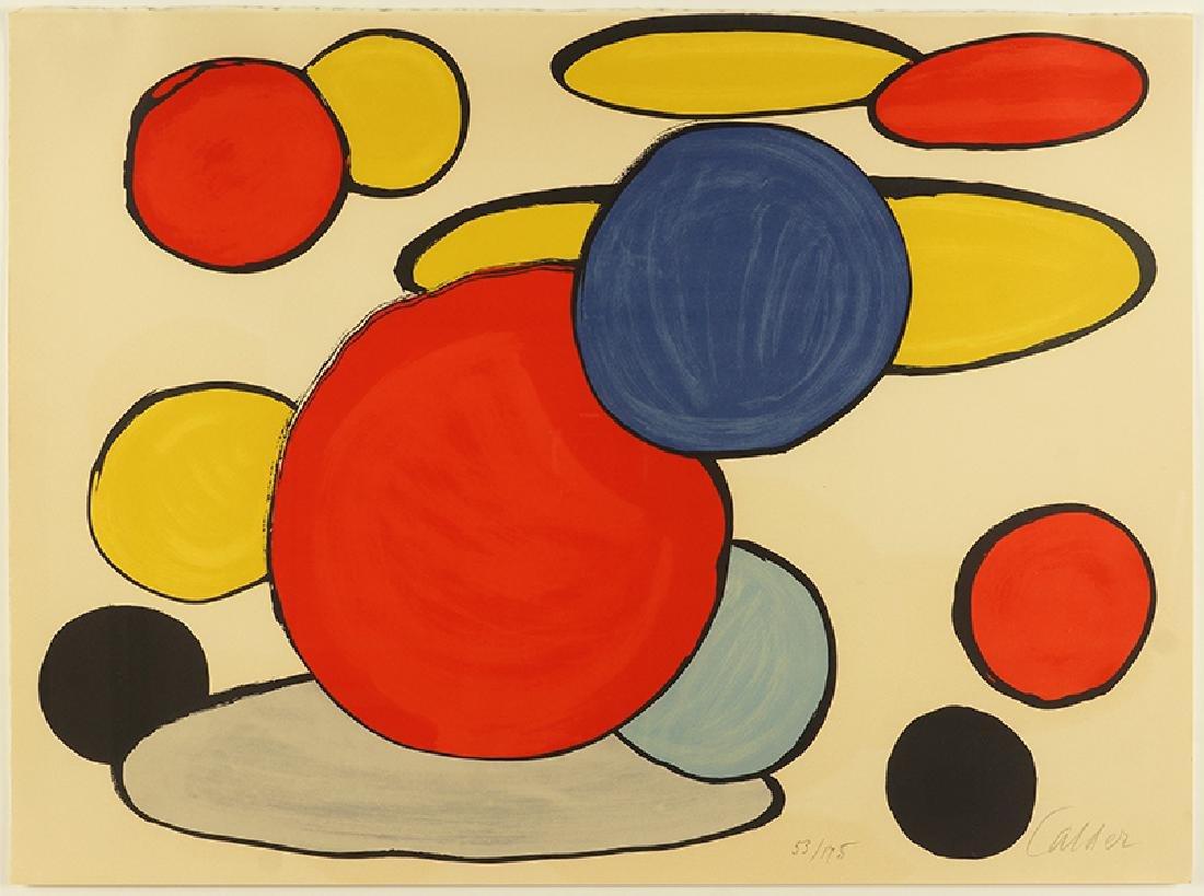 Alexander Calder (American, 1898-1975) Circles and
