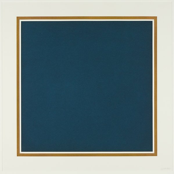 Sol LeWitt (American, 1928-2007) A Square with Colors - 3