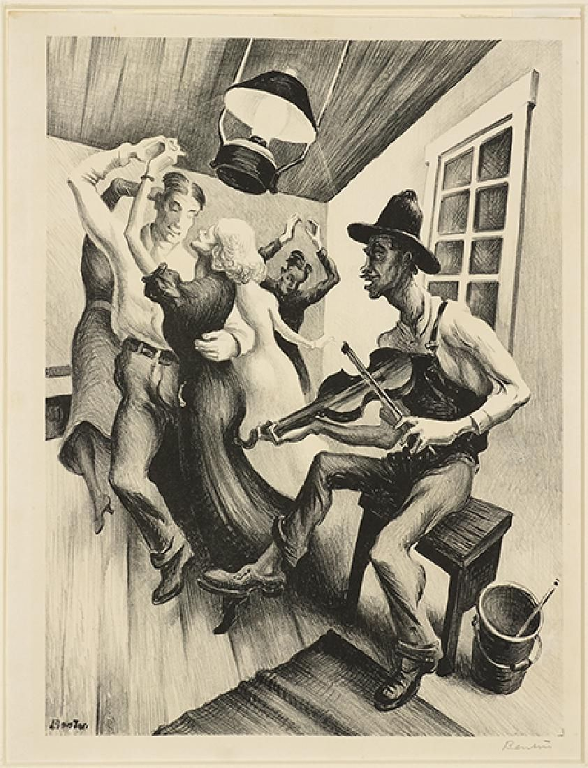 Thomas Hart Benton (American, 1889-1975) I Got a Gal on