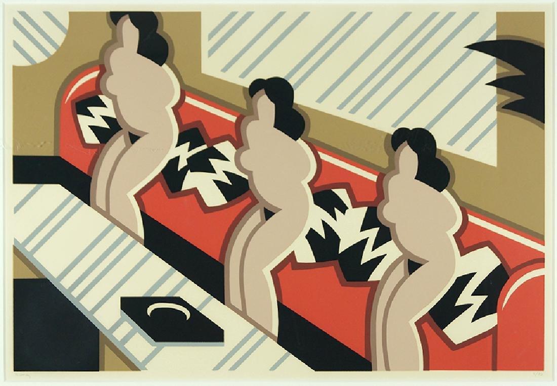 Robert Gordy (American, 1933-1986) Three Nudes.