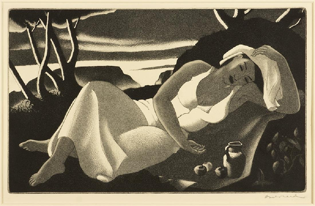 Doel Reed (American, 1894-1985) Rest.