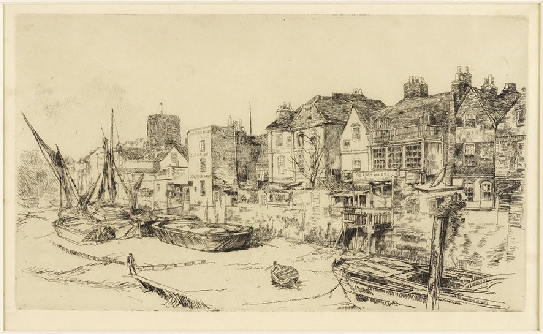 James McNeill Whistler (American, 1834-1903) The Adam