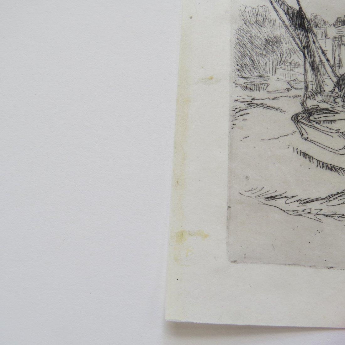 James McNeill Whistler (American, 1834-1903) The Adam - 5