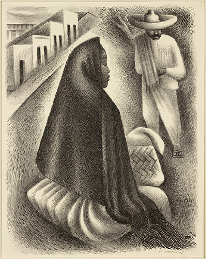 Miguel Covarrubias (Mexican, 1904-1957) Hombre y Mujer.