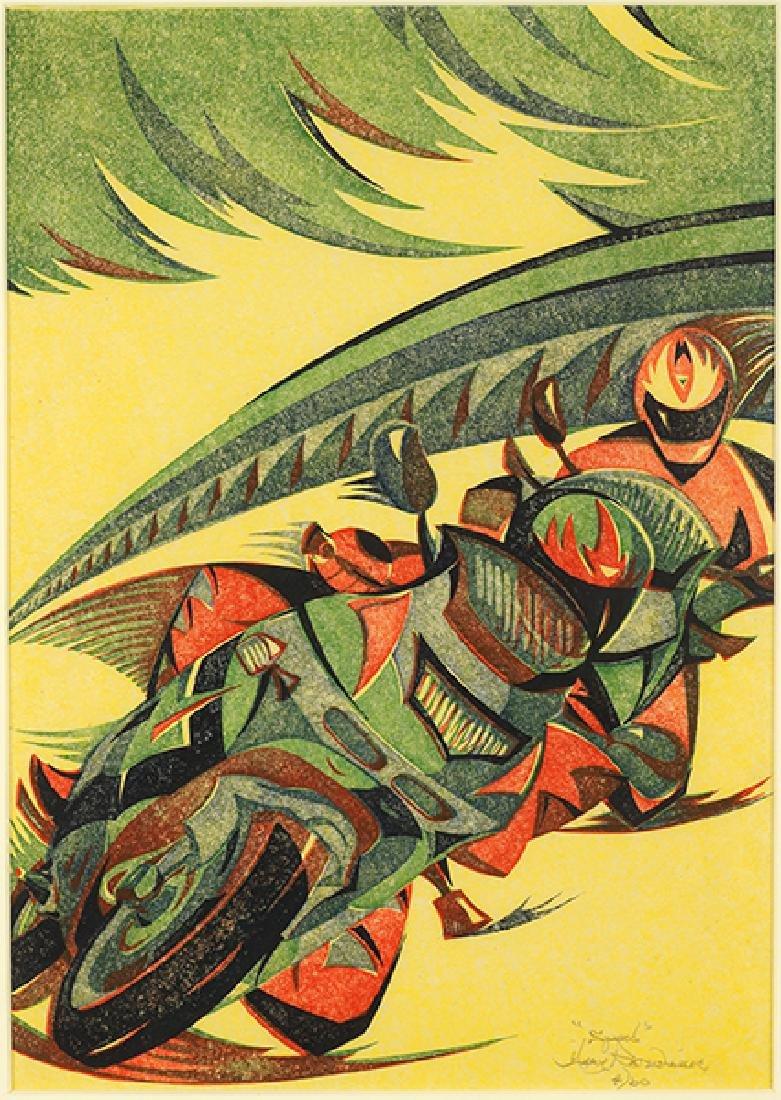 Gary Ratushniak (Canadian, B. 1958) Speed.