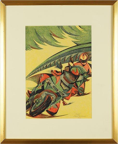 Gary Ratushniak (Canadian, B. 1958) Speed. - 2