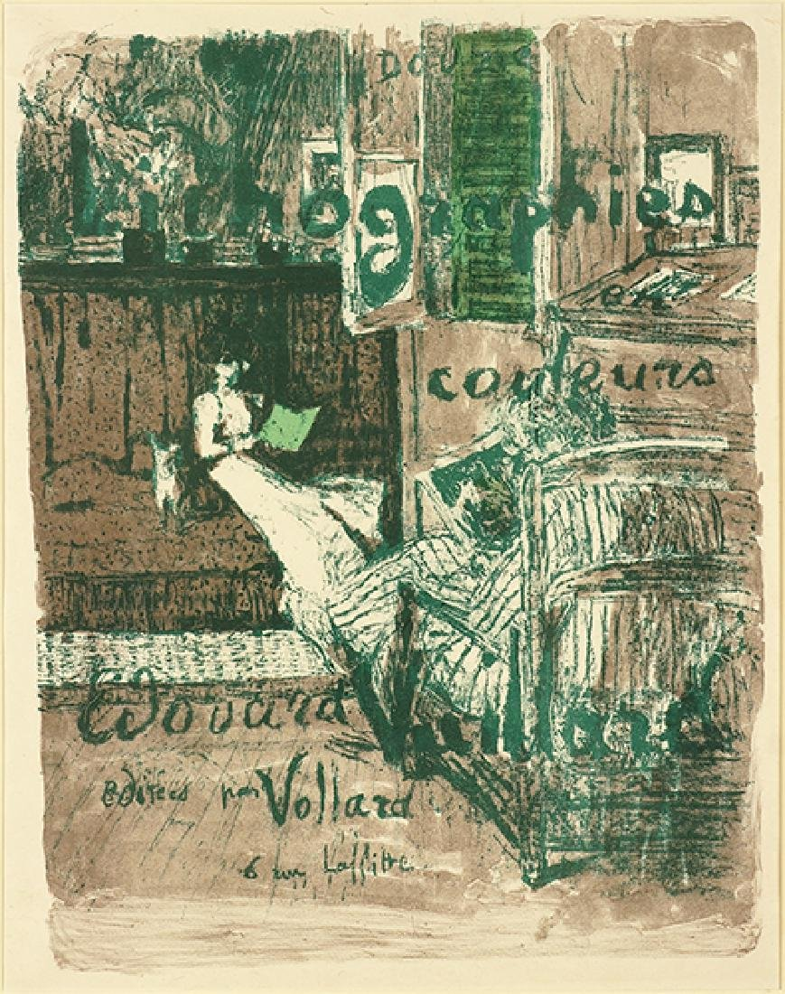 Edouard Vuillard (French, 1868-1940) Couverture de