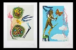 Salvador Dali (Spanish, 1904-1989)  The Magic Butterfly