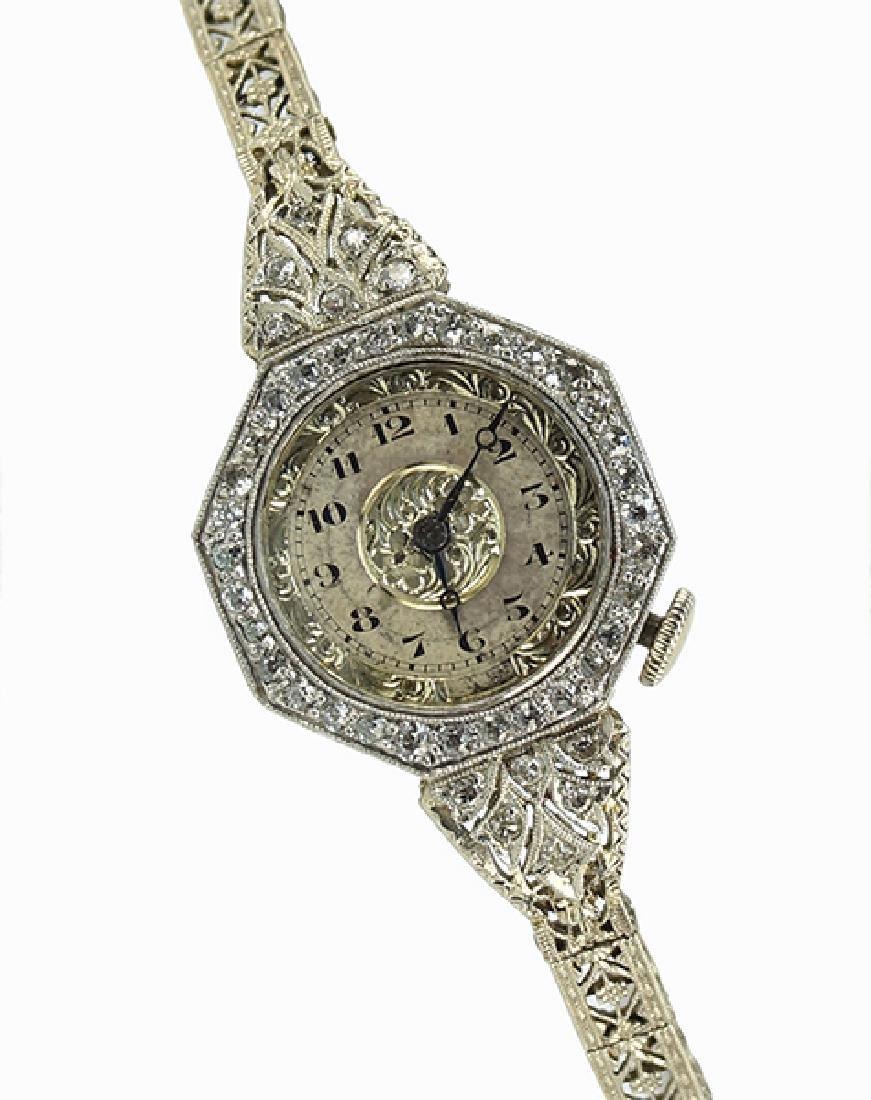 A Diamond Dress Watch.