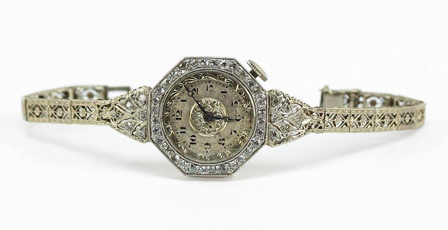 A Diamond Dress Watch. - 2