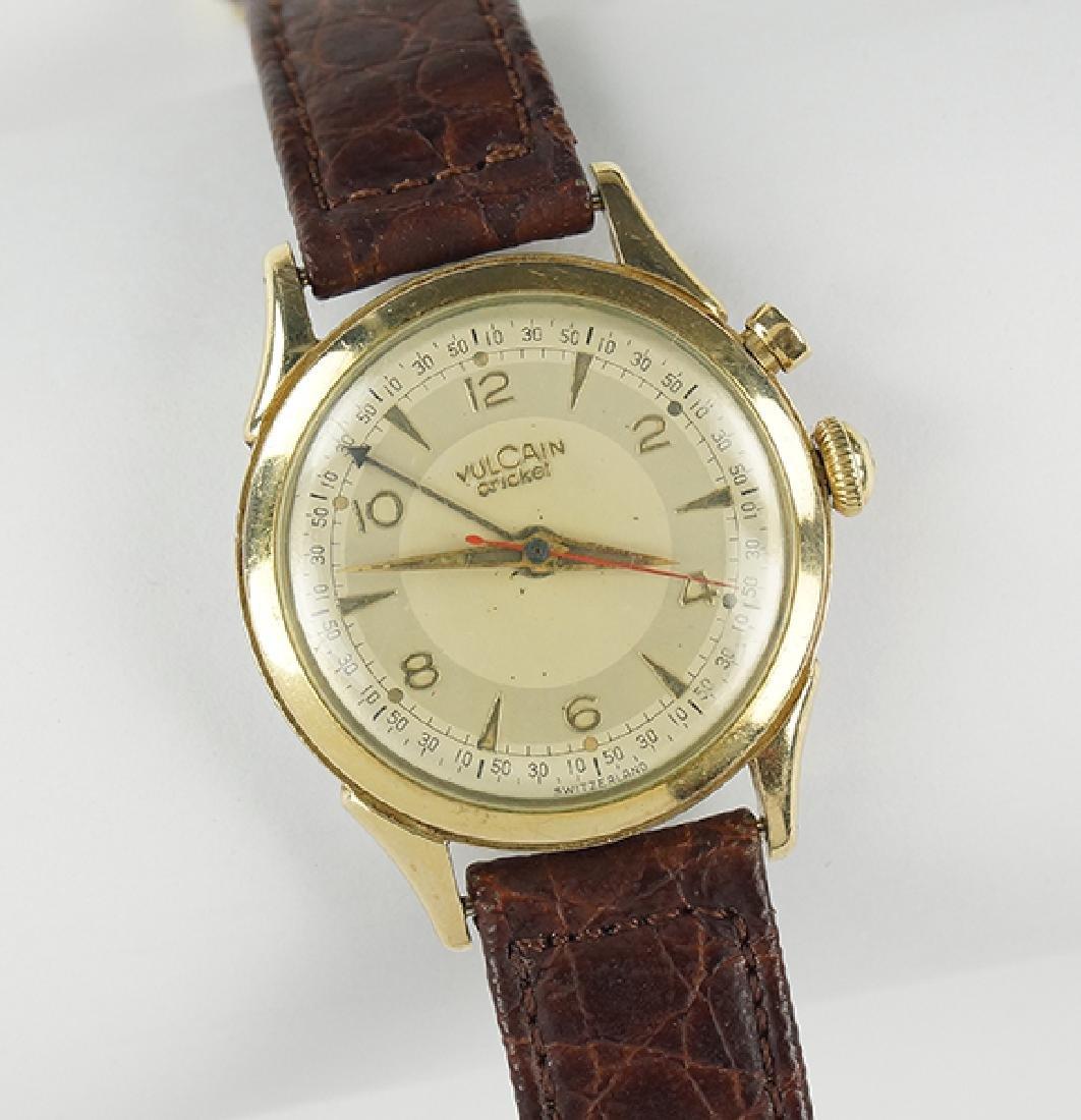 A Vulcain Cricket Watch.