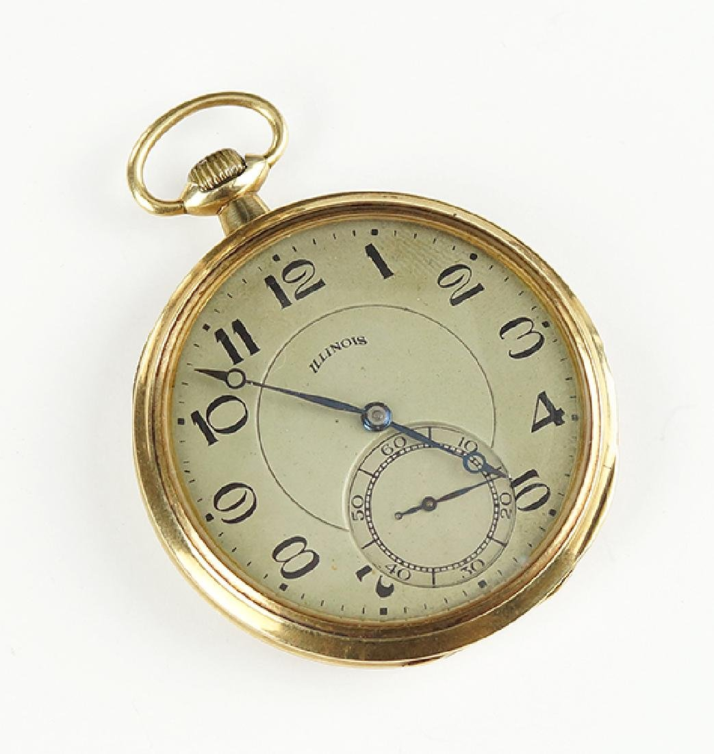 An Illinois Pocket Watch.