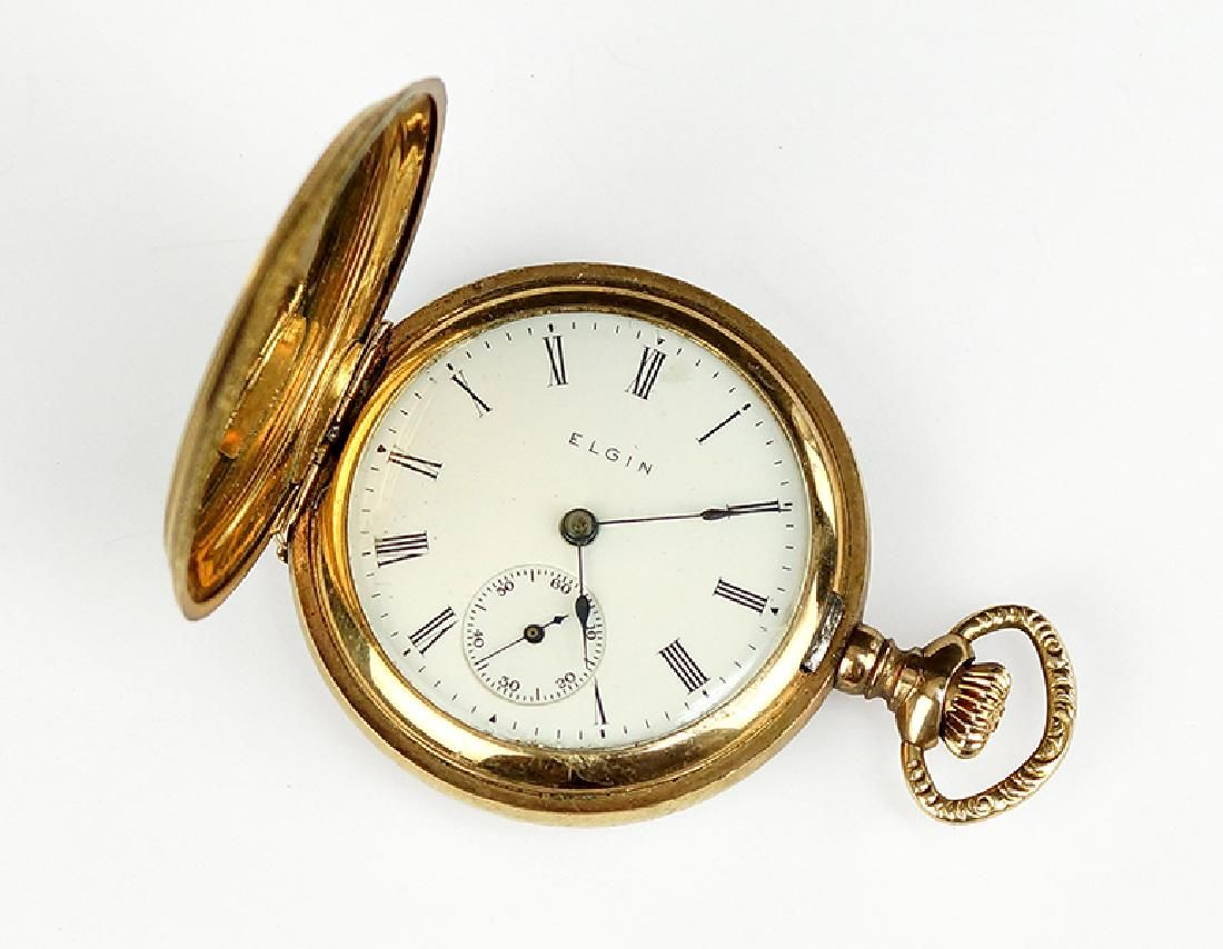 An Elgin Lady's Goldfilled Pocket Watch.