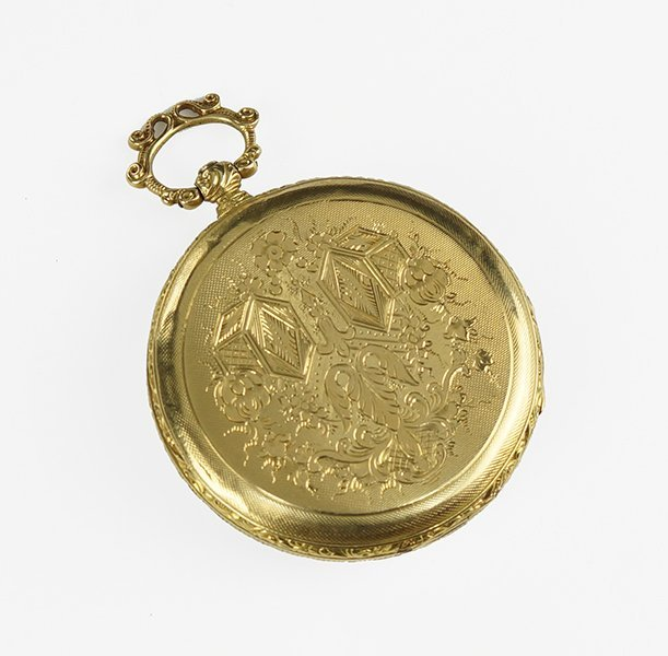 An 18 Karat Yellow Gold Pocket Watch. - 2