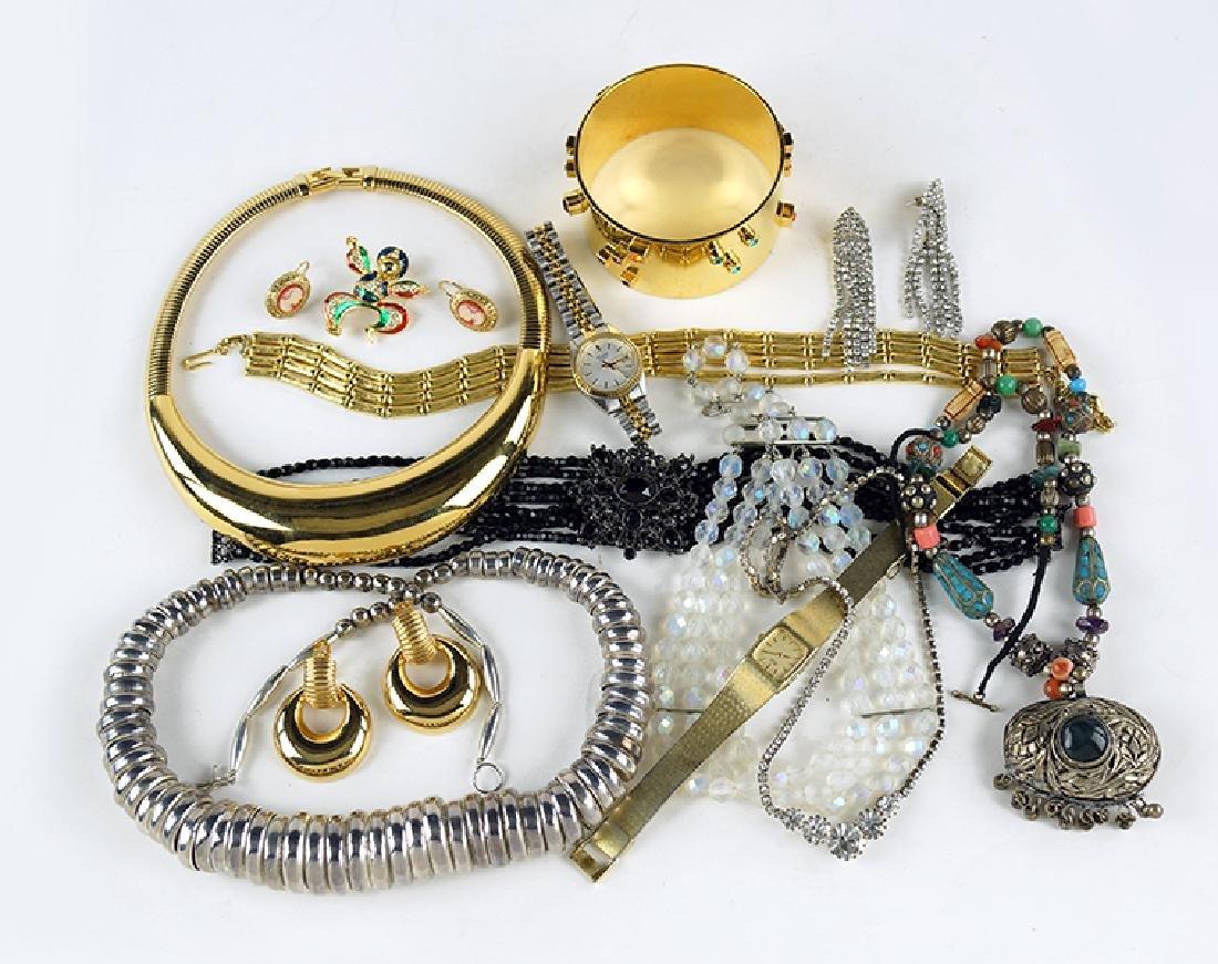A Patricia Locke Goldtone Bracelet.