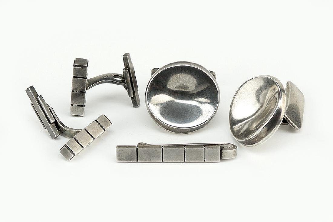 A Collection of Georg Jensen Men's Jewelry.