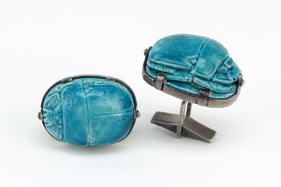 A Pair of Kalo Cufflinks.
