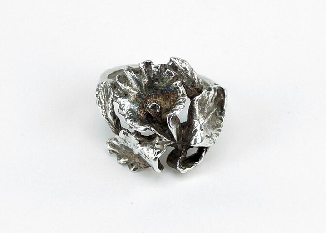 A Joseff of Hollywood Sterling Silver Ring.