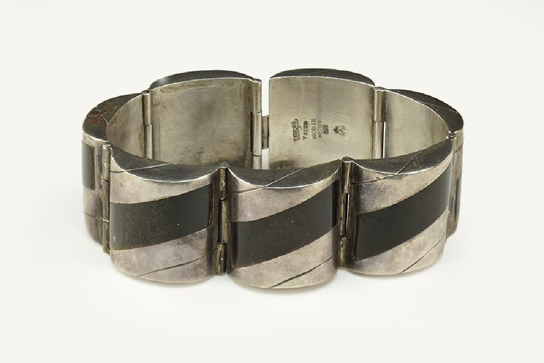 A Mexican Sterling Silver Bracelet.