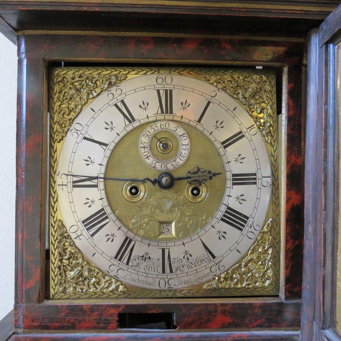 A George II Long Case Clock. - 4