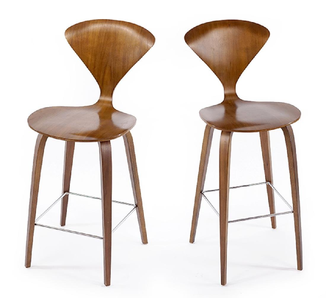 A Set of Four Cherner Stools.