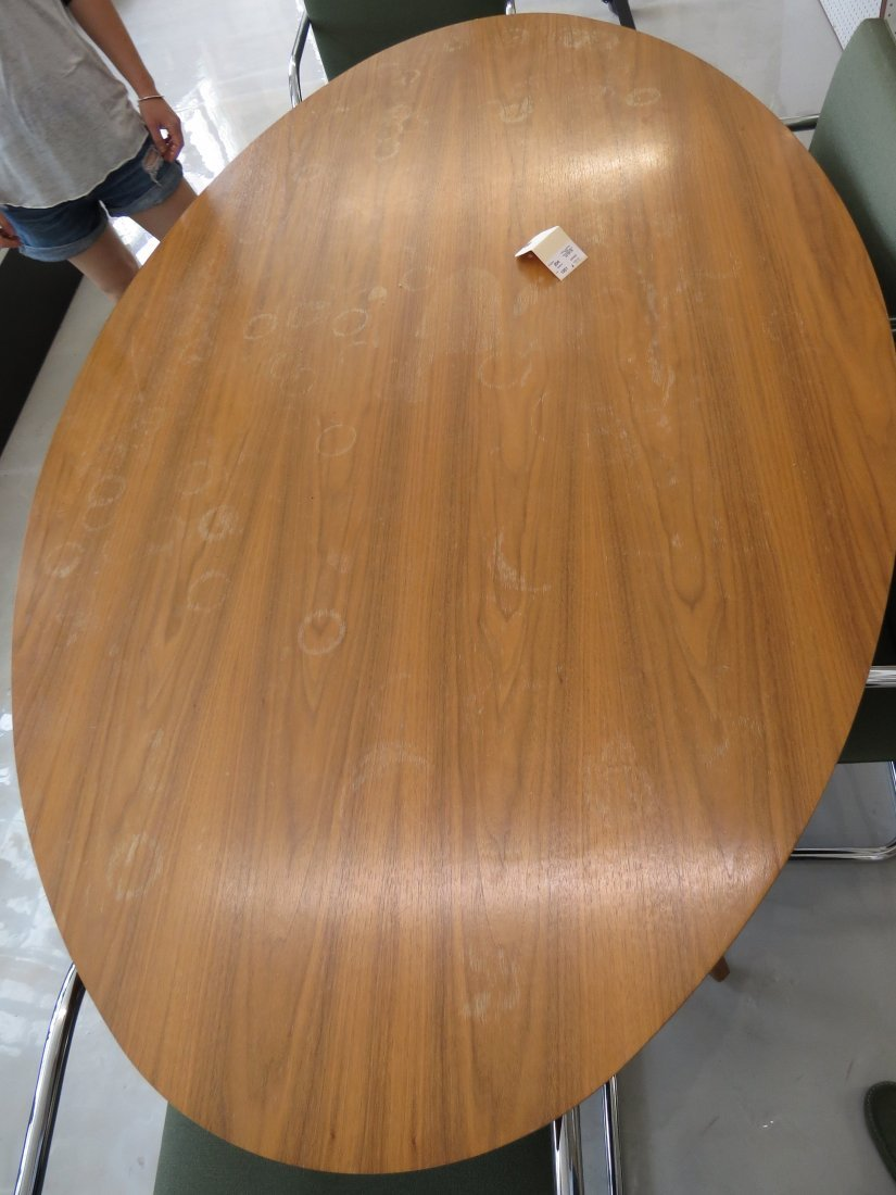 A Knoll Elliptical Table. - 2